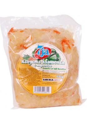 Col fermentada con zanahoria en bolso 16x650gr 7JA