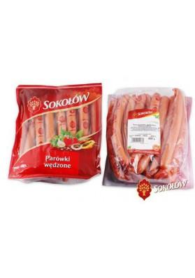 SOKOLOW Salchichas semiahumado  PAROWKI WEDZONE 1kg