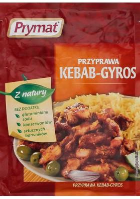 Especia para Kebab-Gyros 70gr PRYMAT