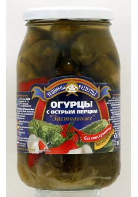 Pepinos concervado con pimiento picante 12x860gr TR