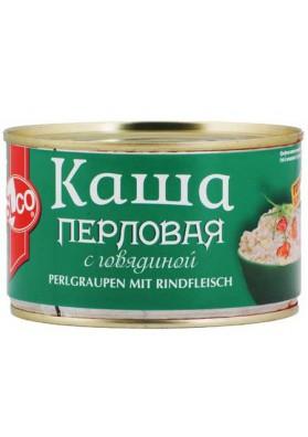 Cebada perlada con carne de ternera 8x375gr.SLCO