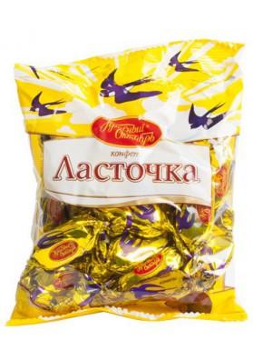 Шоколадные конфеты  ЛАСТОЧКА 250гр КО