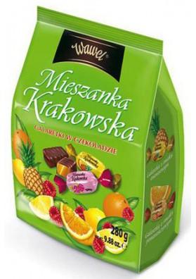 Bombones de chocolate  MIESZANKA KRAKOWSKA 280gr WAWEL