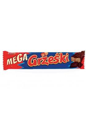 Barquillos en chocolate  MEGA GRZESKI 32x48gr GOPLANA