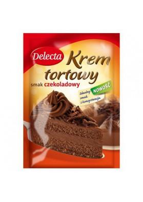 Crema para tarta sabor chocolate 15x115gr DELECTA