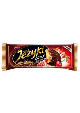 Galletas  JEZYKI DARK CHERRY 140gr GOPLANA