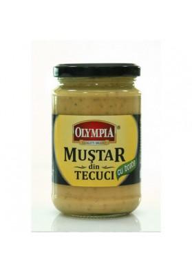 Горчица с семенами горчицы 300гр OLIMPIA