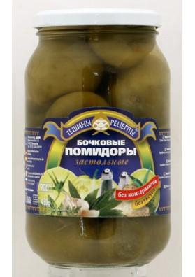 Tomates verde de baril 12x860gr.TR