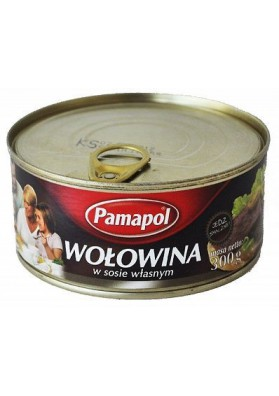 Carne de ternera en su salsa 300gr PAMAPOL