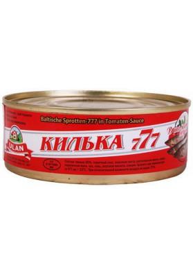 Boquerones en salsa de tomate 24x240gr ULAN