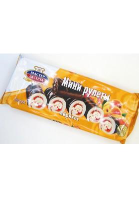 Mini rolada sabor albaricoque 5x35gr MD