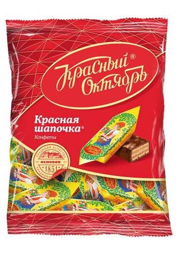 Bombones de chocolate  KRASNAYA SHAPOCHKA 18x250gr KO