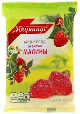 Mermelada sabor frambuesa 12x325gr UDARNICA