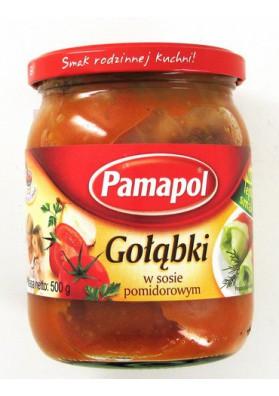 Enrollitos de col en salsa de tomate 500grX 8 PAMAPOL