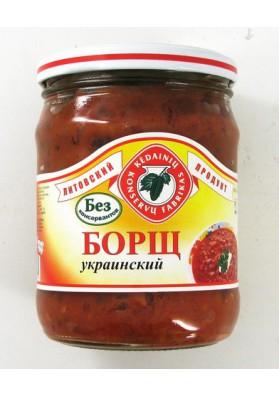 Sopa de remolacha  BORSCH UKRAINSKIY 480gr KEDAINIU