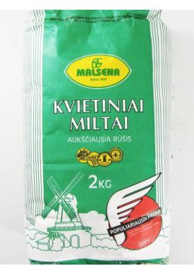 Мука пшеничная 8x2кг MALSENA LT
