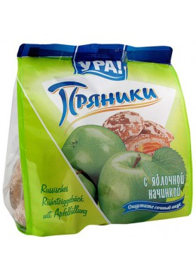 Melindre con mermelada de manzana 12x250gr YRA