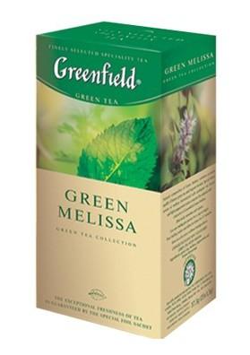 Te verde GreenfieldMELISSA 25x1.5gr