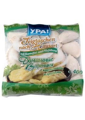 Vareniki con patata y setas 400gr YRA
