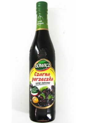 Jarabe de casis 440ml LOWICZ