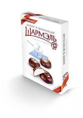 Pasta de frutas en chocolate sabor nata 8x250gr SHARMEL