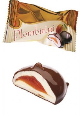 Bombones de chocolatePLOMBIRINI albaricoque 2.5kg SUVOROV