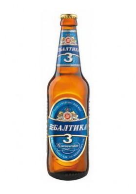 Cerveza BALTIKA 3 4.8%alc. 20x450ml