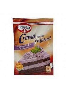 Крем для тортов с черниным вкусом 50гр Dr.Oetker