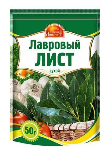 Hojas de laurel 16x50gr RUSSKIY APPETIT