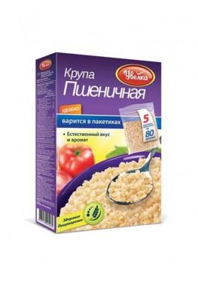 Grano de trigo triturado en paquete 5x80gr UVELKA