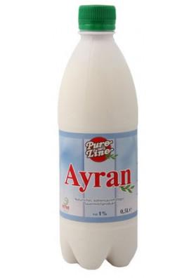 Yogurt AYRAN 1%grasa 0.5L TAN
