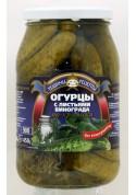 Огурцы с листьями винограда ПО-КРЫМСКИ 12x860гр ТР