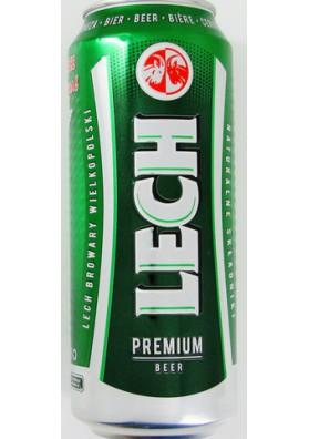 Cerveza LECH 24x0.5L 5.2%alk. lata