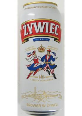 Cerveza ZYWIEC 24x0.5L 5.6%alk. lata