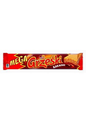 BarquilosMEGA GRZESKI sabor cacao 32x34gr GOPLANA
