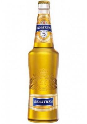 Пиво Балтика 5 20х0.47л 5,3%алк.