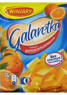 Jalea sabor naranja 22x75gr WINIARY
