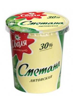 Crema agria SVALIA 30%grasa 12x380gr LT