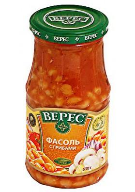 Alubias con setas es tomate 12x530gr VERES