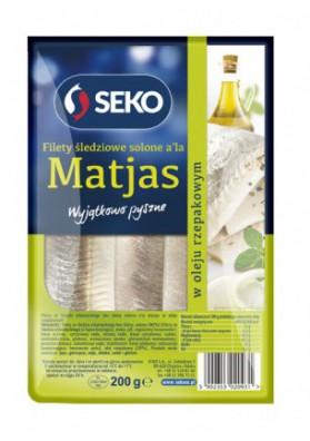 Filete de arenque en aceiteA LA MATJAS 11x200gr SECO