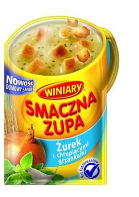 Sopa seco con pan tostado  ZHUREK  30x15gr  WINIARY