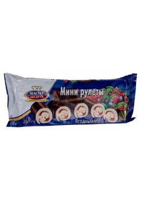 Mini rolada sabor frutasJAGODNIY SBOR 5x35gr MD