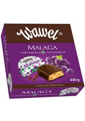 Bombones de chocolate MALAGA 430gr WAWEL
