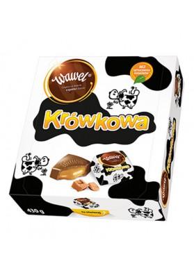 Шоколадные конфеты с карамельной начинкой 430гр WAWEL