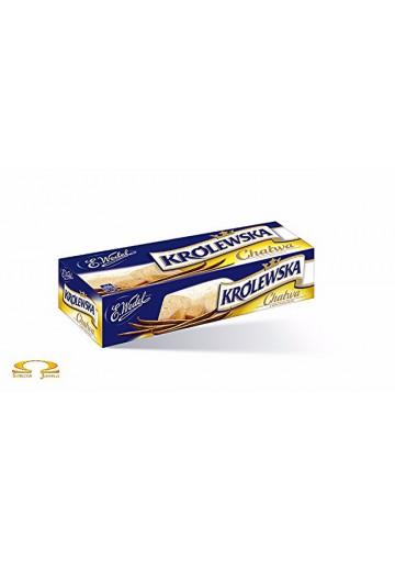 Turon de sesamo sabor vanillaKROLEWSKA 18x250gr E.Wedel