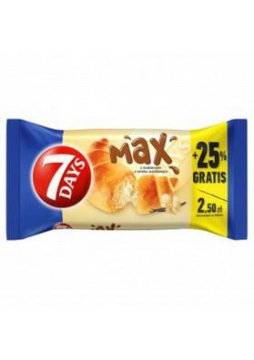 Croissante con crema vanilla 18x110gr 7DAYS