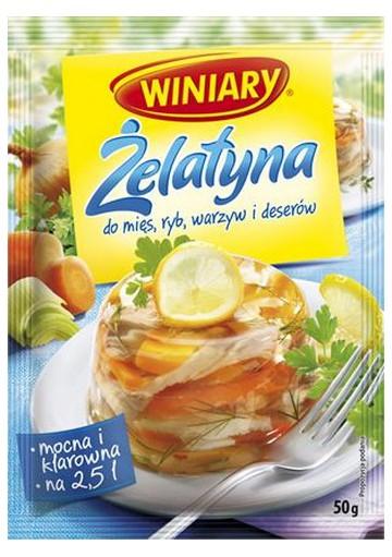 Gelatina 25x50gr WINIARY