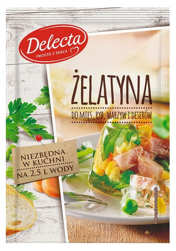 Gelatina 40x20gr DELECTA