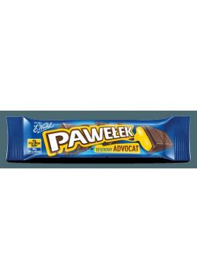 Батончик шоколадный вкус ликераPAWELEK ADVOCAT 24х45гр E.WEDEL
