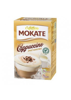 CapuccinoMOKATE sabor crema 15x10gr CAFFETTERIA